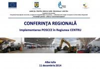 Conferinta POSCCE decembrie-2014